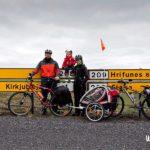 Viaje en familia: Islandia en bicicleta