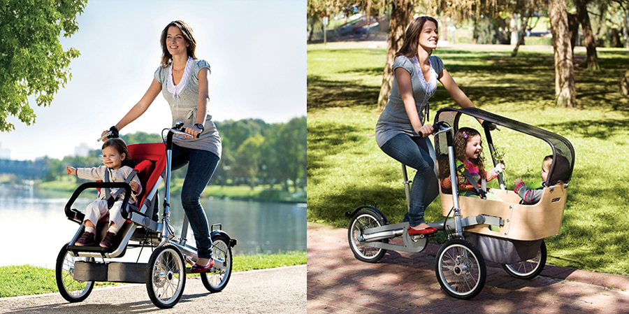 ideas originales - bicicleta carrito taga