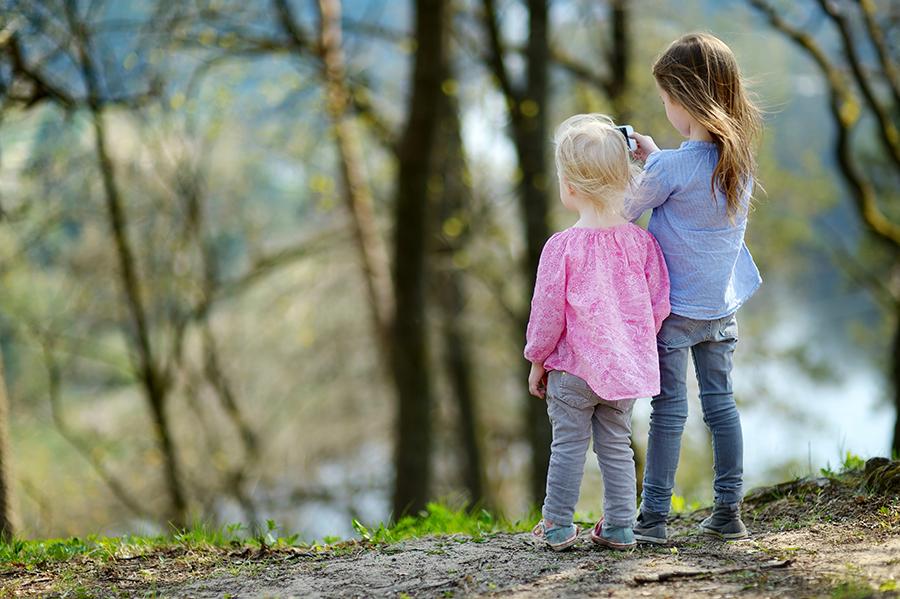 Aplicaciones naturaleza con niños
