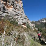 Excursion con niños a roca Canalda
