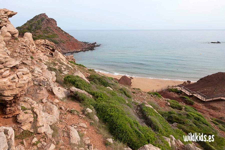 Cala del Pilar. Menorca