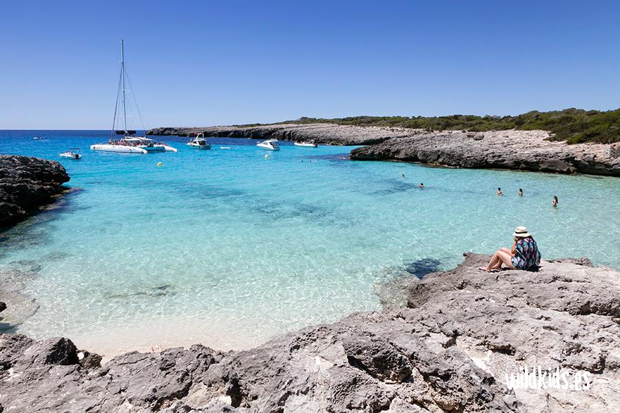 Cala des Talaier, Menorca con niños