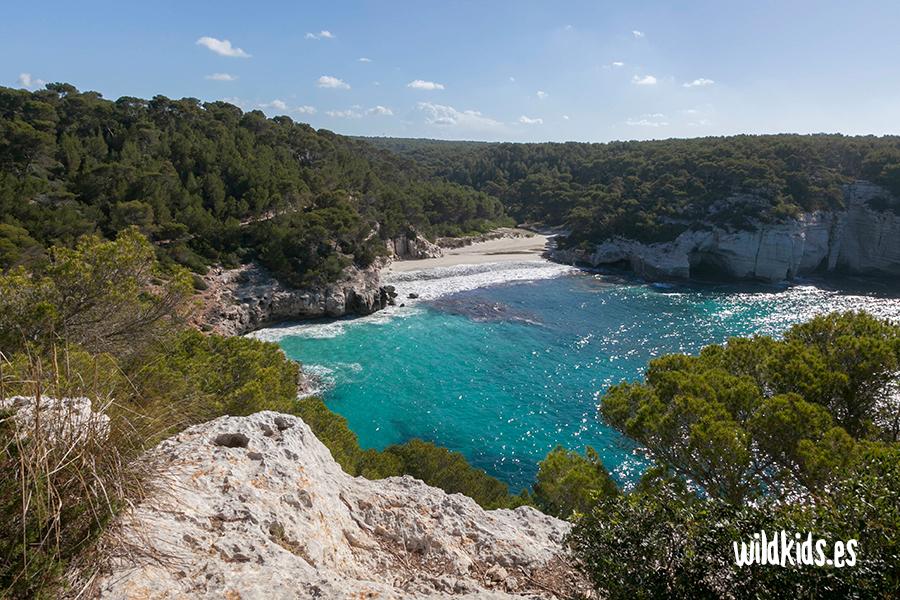 Cala Mitjana. Menorca