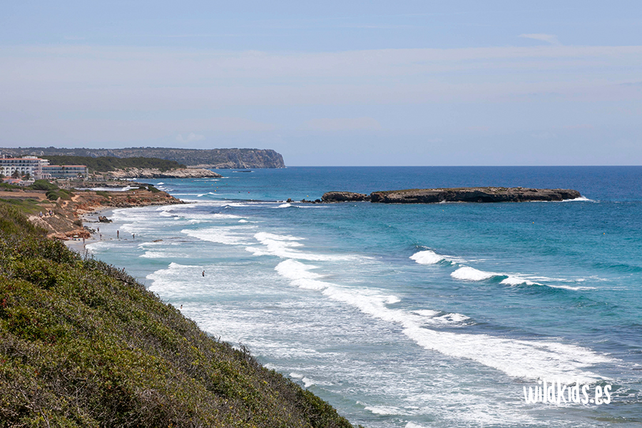 Playa Binigaus. Menorca