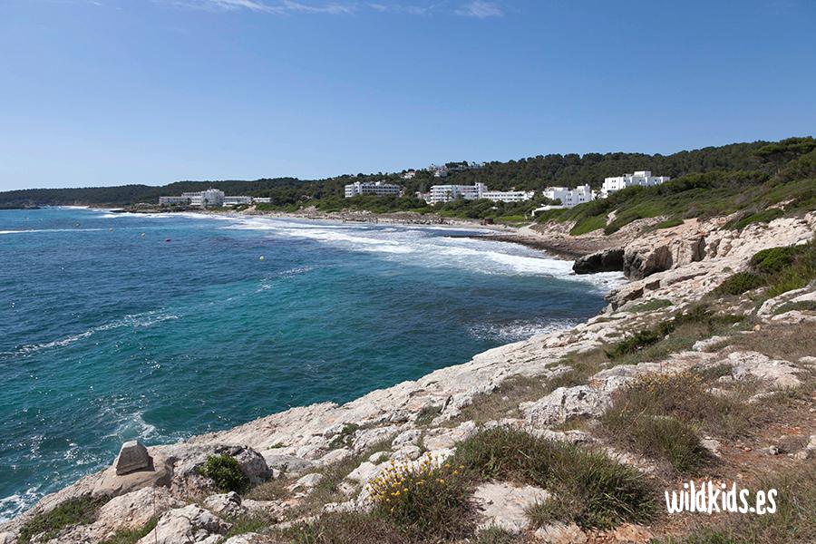 Playa de Sant Tomas. Menorca