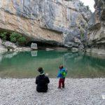 Excursión con niños a la Foz de Lumbier