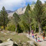 Excursion con niños en Pirineo aragones: ibonet de Batisielles