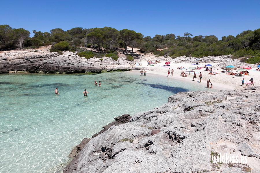 Cala Es Talaier, Menorca con niños