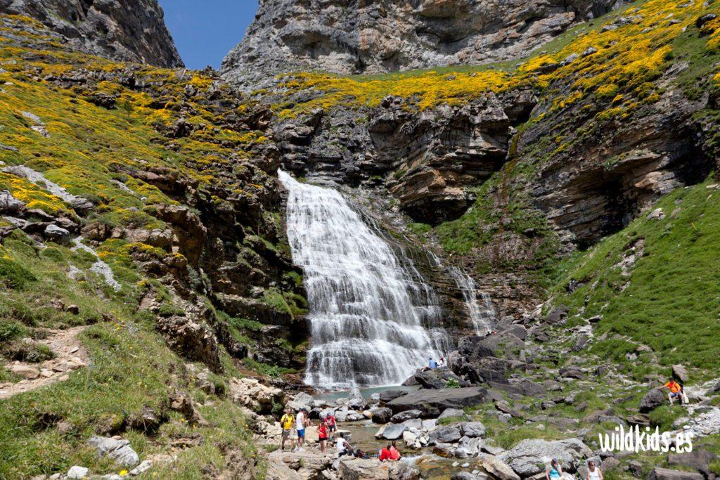 excursión con niños: valle de Tena