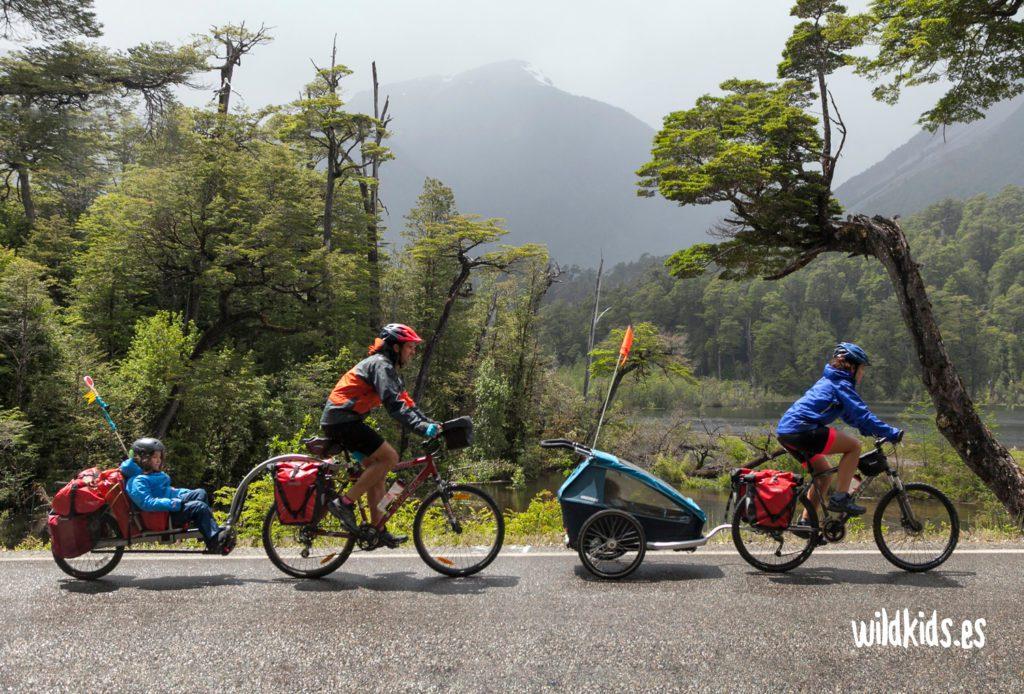Remolques de bicicleta para niños