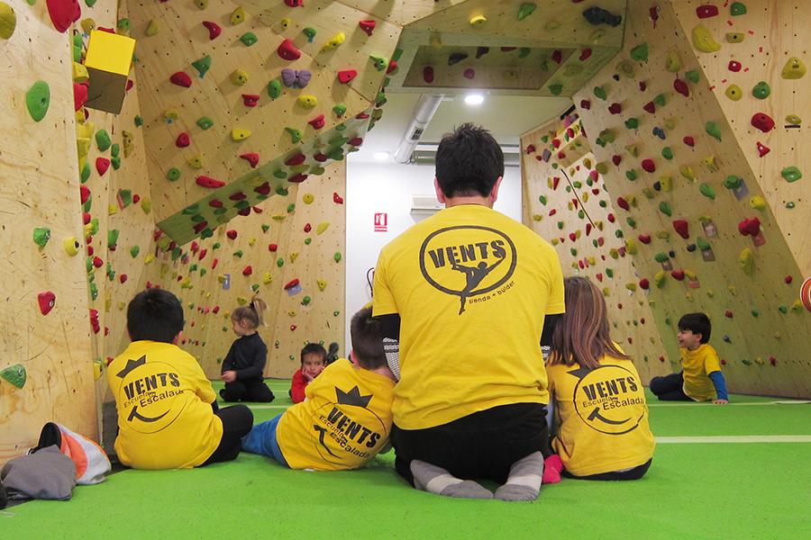 Vents kids escuela de escalada para niños en valencia