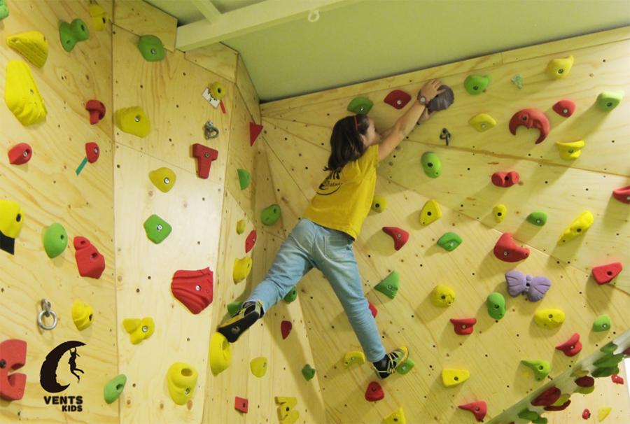 escuela de escalada para niños en valencia