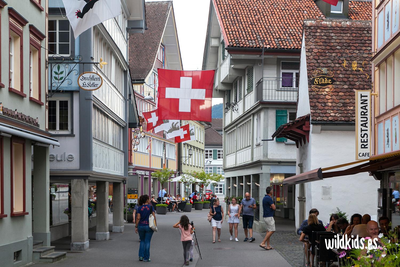 Recorriendo las calles de Appenzell