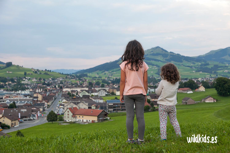 Vistas sobre el pueblo de Appenzell
