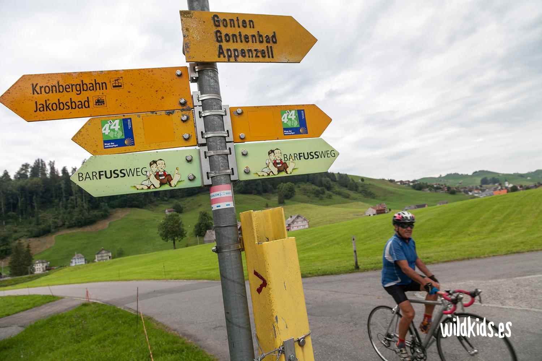 Señales del Barfussweg