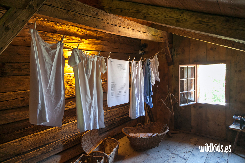 Reproducción de una vivienda tradicional en Heididorf