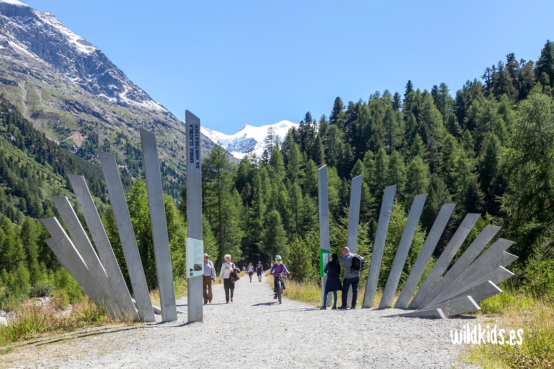 Senda del Glaciar de Morteratsh