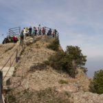 Excursión con niños cerca de Barcelona: cima de Sant Jeroni en Montserrat