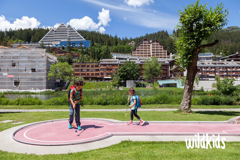 Suiza con niños: Crans-Montana