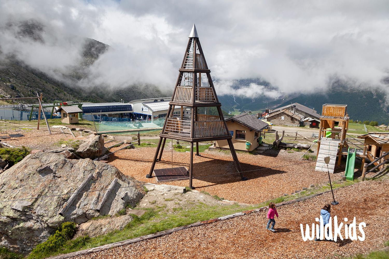 Suiza con niños: Saas-Fee