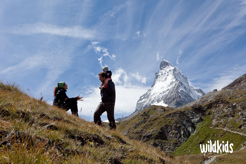 Valais con niños: Zermatt con niños