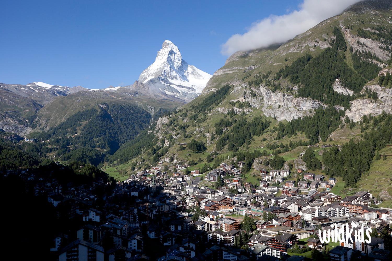 Zermatt con niños